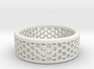 Honeycomb in White Strong & Flexible