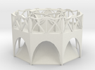 Arch Planter in White Strong & Flexible
