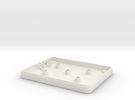 IntyKeypad Bottom in White Strong & Flexible