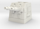 Turbolaser Short Turret 1/270 in White Strong & Flexible
