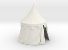 Medieval round tent, updated in White Strong & Flexible