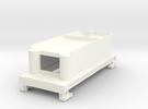Tender 280 Dcc (high) in White Strong & Flexible Polished