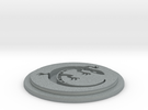 Salamander Team Disk in Polished Metallic Plastic