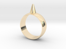 9.5 223-Designs Bullet Button Ring Size  in 14K Gold