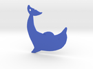 Dolphin in Blue Strong & Flexible Polished