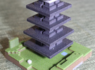Dark Tower in Full Color Sandstone