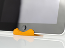Curvestand - iPad in Orange Strong & Flexible Polished