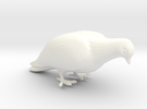 Bird No. 1 (Dove) in White Strong & Flexible Polished