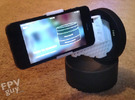 Motrr Galileo iPhone 5 & 5s  panorama nodal point  in White Strong & Flexible