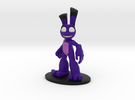 Purple Hare in Full Color Sandstone
