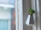Wearable Planter No. 3 in White Strong & Flexible Polished