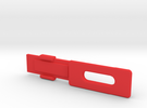 Screen Cradle with Screen Clip in Red Strong & Flexible Polished