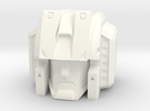 MP Seeker Head 11-6-14 in White Strong & Flexible Polished
