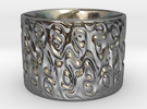 A Cup With No Handle Is A Plate, Topologically. in Polished Silver