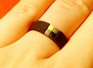 4-bit ring (US7/⌀17.3mm) in Black Strong & Flexible
