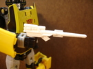 Sunlink - CounterPunchy Rifle in White Strong & Flexible