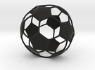 Classic Soccer ball (football) in Black Strong & Flexible