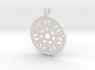 Cyllene pendant in White Strong & Flexible