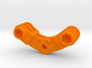 The Forward Backward Gemini mount in Orange Strong & Flexible Polished