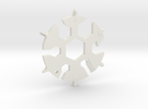 Snowflake Multi Tool in White Strong & Flexible