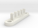 18RG Wire Bracket (7mm) in White Strong & Flexible