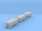 T-gauge 3 Hoppers - Custom Wheels, see description in Frosted Ultra Detail