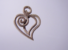 Heart Line in Stainless Steel