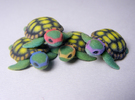 TMNT Little Turtles (4 pieces bundle) in Full Color Sandstone