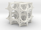 Torus Truss (2 x 2 x 2) in White Strong & Flexible