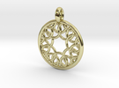 Eurydome pendant in 18K Gold Plated