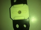 GoPro Mount with M5 Screw Hole in White Strong & Flexible