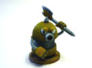 Axe Robot Yellow in Full Color Sandstone