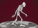 Sasquatch Skeleton in White Strong & Flexible