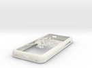 NYC subway map iPhone 5c case in White Strong & Flexible