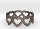 Heart Ring - Size 7 in Stainless Steel