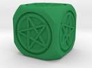 Mage's dice in Green Strong & Flexible Polished