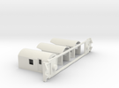 AG Luggage/Generator, NZ, (OO Scale, 1:76) in White Strong & Flexible