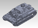 1/144 PzKpfw IV ausf.E Tropical type in Frosted Ultra Detail