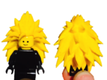 Goku SSj3 Lego Hair Dragon Ball Z