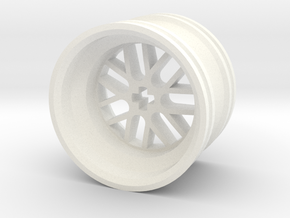 Wheel Design III MkII in White Strong & Flexible Polished