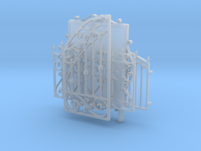 Iron fences and tableau in Frosted Ultra Detail