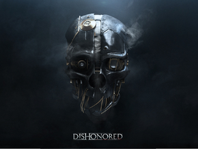 Dishonored: Corvo Attano Mask in White Strong & Flexible