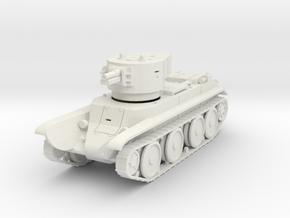 PV67A BT7A Artillery Tank (28mm) in White Strong & Flexible