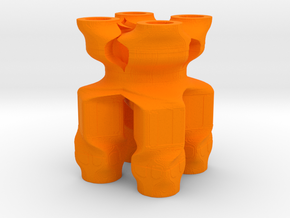 Ag0027 in Orange Strong & Flexible Polished