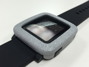 Pebble Time - Bumper in Metallic Plastic