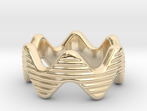 Zott Ring 27 - Italian Size 27 in 14k Gold Plated
