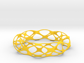 Voronoi Bracelet in Yellow Strong & Flexible Polished