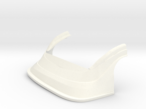 1/24 MD3 NOSE in White Strong & Flexible Polished