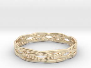Basic ring(Japan 10,USA 5.5,Britain K)  in 14k Gold Plated
