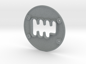 TH8rs - Shifter Plate in Polished Metallic Plastic